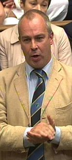 Paul Farrelly MP speaks  following a statement by the Prime Minister on phone hacking