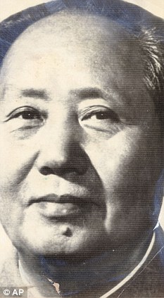 Mao Tse Tung, the former chairman of the Communist party of China.