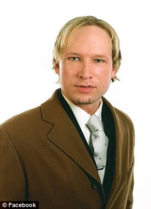 Suspect: Breivik is being questioned by police over the shootings