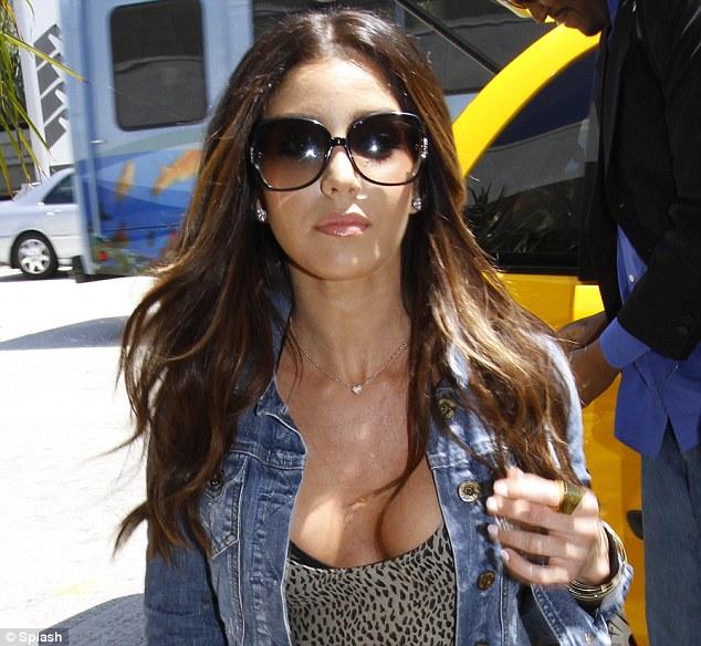 Eye-popping situation: Melissa is dating Kim's ex Reggie Bush