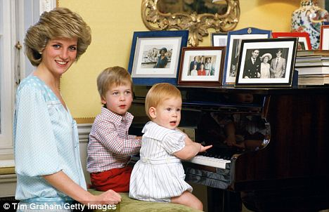William spent his early childhood at Kensington Palace before his parents' marital problems