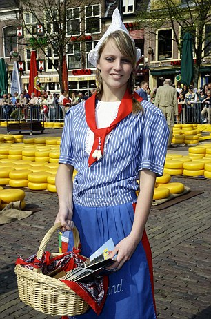 A girl in traditional dress