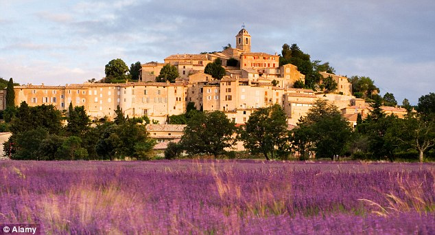 Village of Banon in Provence, France
