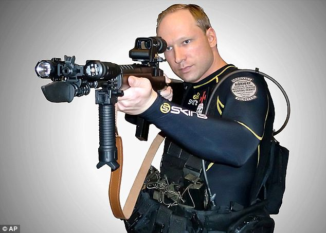 Baffling: Breivik came from a country known around the world for its peaceful, democratic government