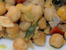 Fermentable carbs: Chickpeas