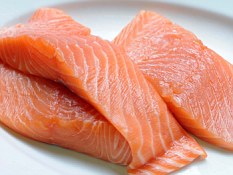 Calcium rich: Salmon