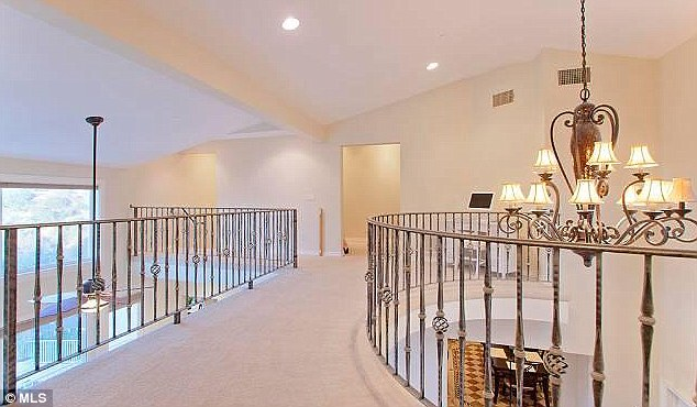 Big place: The house has five bedrooms and appeared in Anna's reality show The Anna Nicole Show
