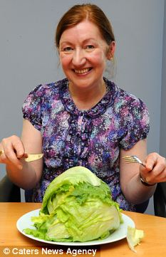 Elsie Campbell, 59, developed a sudden inexplicable craving for lettuce. Her husband realised she could be deficient in sulforaphane