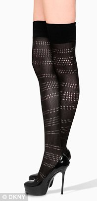 Gossip Girl costume designer Eric Daman has designed a collection of legwear for DKNY