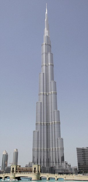The tower will be 170 metres taller than the current tallest building, the Burj Khalifa in Dubai