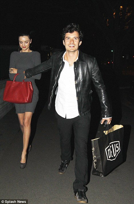 Cute couple: The pair are clearly very much in love and enjoying their time in Australia