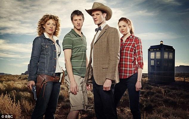 Doctor Who with Alex Kingston, Arthur Darvill, Matt Smith and Karen Gillan