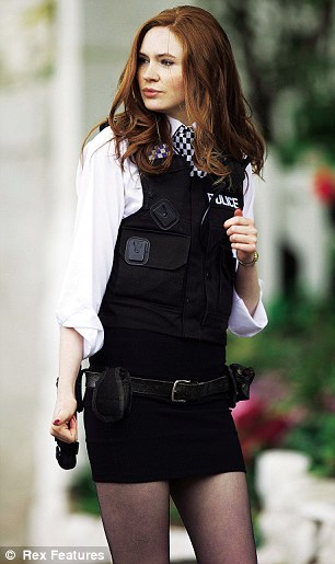 'Amy Pond (played by Karen Gillan) is a sexy character, by her very nature'