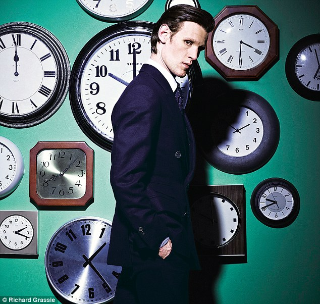 'He is always the cleverest man in the room, but he's not always certain what's going on. It is funny seeing clever people look baffled. I thought a lot about Einstein when I was preparing for this,' said Matt Smith of the Doctor