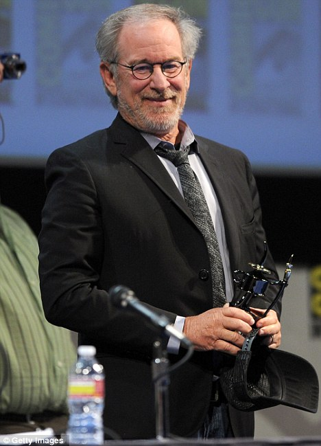 Film legend: Steven Spielberg produced Super 8, while J.J. Abrams directed and wrote the script