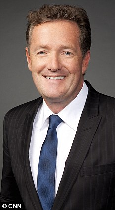 In charge: Piers Morgan was the editor of the Daily Mirror in 1999