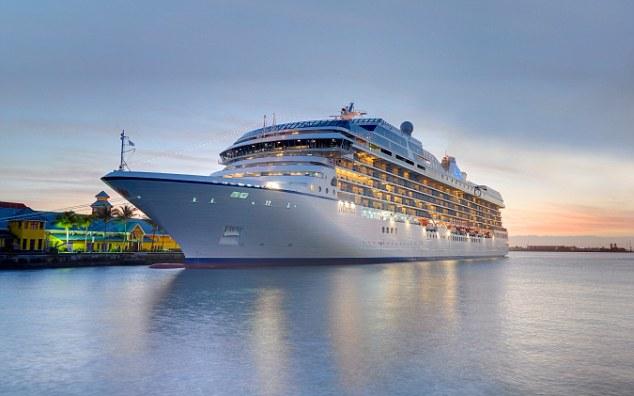 Oceania Cruises' new ship Marina