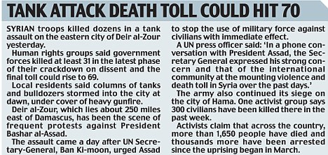 Tank attack death toll could hit 70