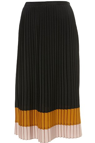 Black with yellow and cream detail, £40, topshop.com