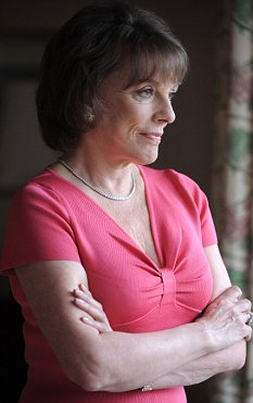 Home alone: Widowed, Esther is one of the three out of five women over 75 who live alone - something the broadcaster struggles with at times