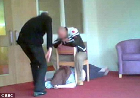 The first care home, Winterbourne View, in Bristol, came under investigation after this footage was captured of a resident being abused