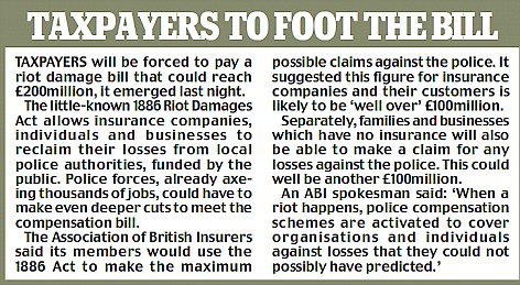 Taxpayers could be forced to pay up to £200m because of a little known law