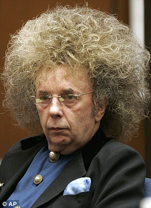 Phil Spector during his murder trial