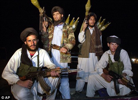 Taliban: £70million of British aid to Afghanistan is set to end up in the wrong hands