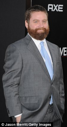 Ideal husbands: Adele's dream men range from Leonardo DiCaprio (L) to The Hangover's Zach Galifianakis