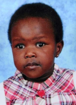 Mauled to death: Ayen Chol, who was watching television in her Melbourne home when a pitbull cross attacked her