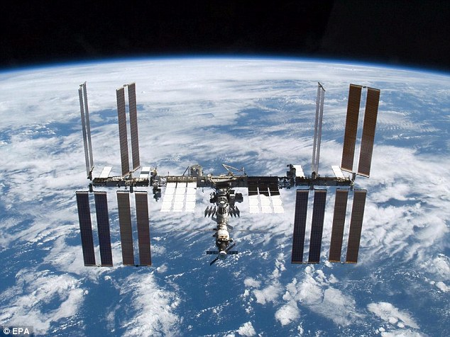 The International Space Station is the largest ever built and is a centre of research