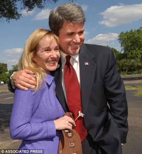 Michael McCaul, right, owes his tremendous wealth to wife, Linda, left