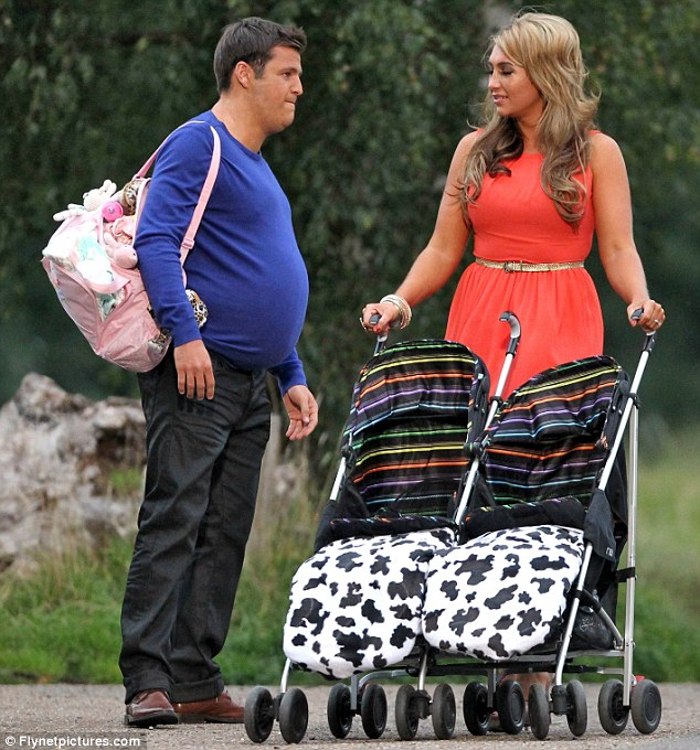 'Now who's the chubby one?' After being criticised herself over her weight by Mark in several episodes, Lauren gets to have the last laugh