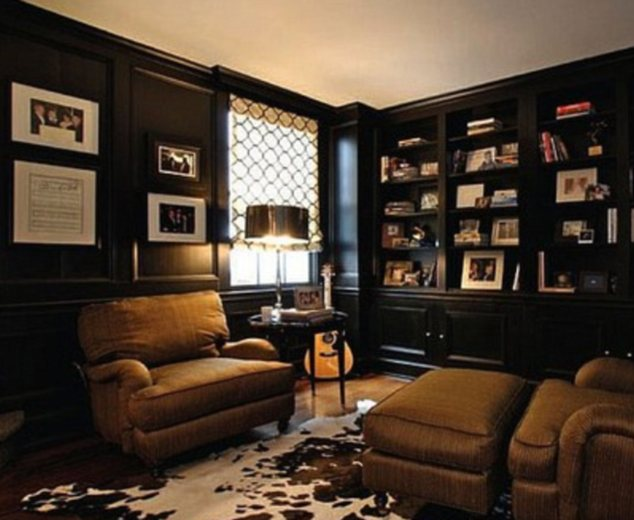 Music room? The historic  Estate was built in 1934 by U.S. ambassador to Denmark Guilford Dudley Jr. and the property was previously owned by Universal Music Group chairman Luke Lewis