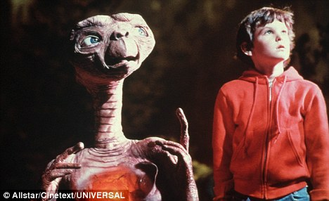 Good clean fun: E.T was released in 1982