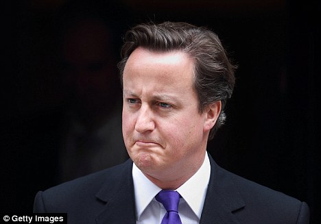 New stance: A new policy document suggests David Cameron is changing his views on certain major issues