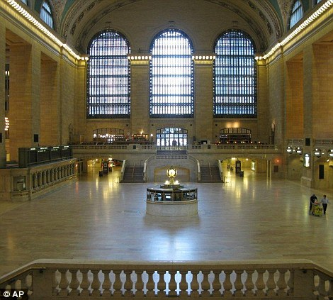 Empty: Grand Central Terminal in New York