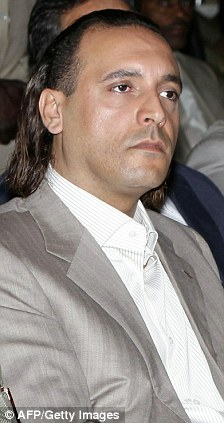 Hannibal Gaddafi is one of the family members who has reportedly fled the country