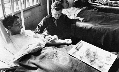 Captive guinea pigs: In 1945, army doctors exposed inmates to malaria-carrying mosquitoes, while soldiers were later exposed to syphilis in Guatemala