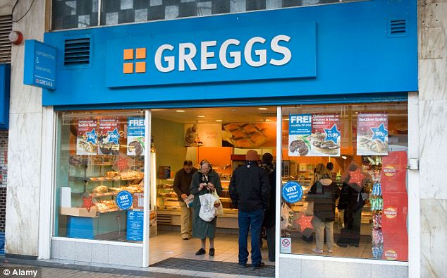 Dough! Greggs is one of the chains that is accused of using too much salt in its bread