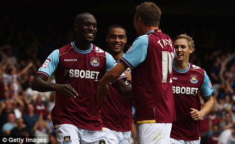 Turkish delight: In-form Cole has hit three goals in as many starts this season