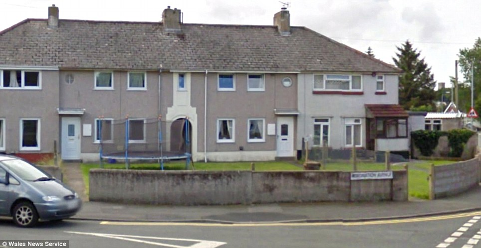 The 49 holiday-makers live on Coronation Avenue (pictured) in Pembrokshire