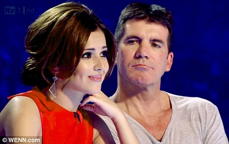 No time to spare: Williams said previous judges, including Cheryl Cole, seen here during the last series, didn't give enough time to the finalists