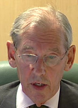 Sir William Gage: The chairman of the public inquiry delevers his report today