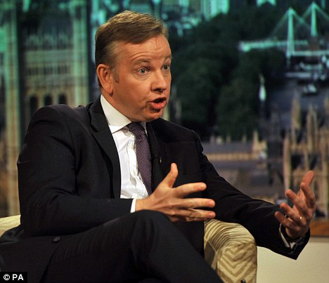 Intriguing: Michael Gove has been shopping at Eton outfitters New & Lingwood
