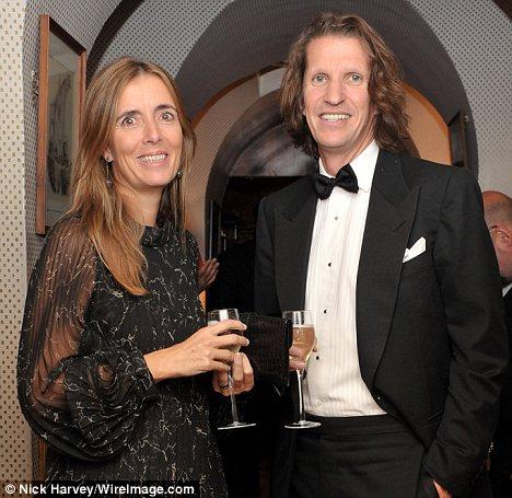 Good terms: Catherine and Pierre Lagrange