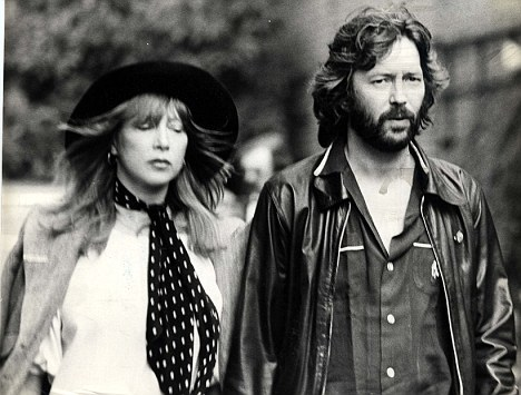 Patti Boyd left Harrison for guitarist  Eric Clapton