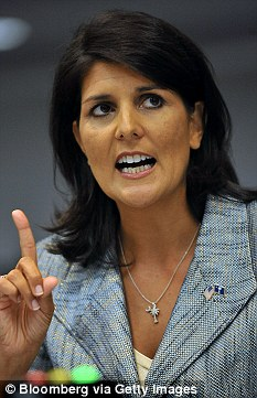 Nikki Haley, governor of South Carolina, was called 'catty and condescending'