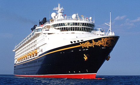 Vanished: Rebecca was onboard the Disney Wonder, which had 2,400 passengers and 945 staff. Thirteen people have gone missing at sea this year