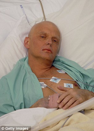 Russian dissident Alexander Litvinenko was poisoned in London in November 2006 and died after 23 days in hospital